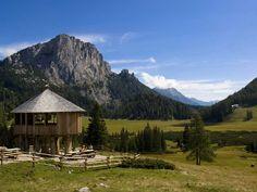 Wurzeralm - Spital am Pyhrn Cabin, Mountains, House Styles, Nature, Travel, Decor, Paradise, Road Trip Destinations, Hiking