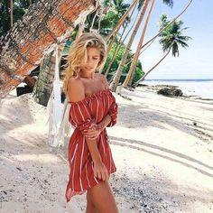 Tash Oakley from A Bikini A Day.. You are AMAZING. Shop the Wanderer Dress at www.dissh.com.au now x