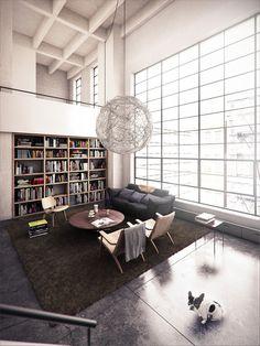 Renwick Street by Lasse Rode. #Infography #Infography3D #Loft