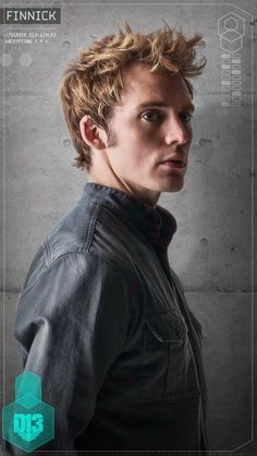 Character Portraits found in District 13 schematic: Finnick Odair sexy af just saying