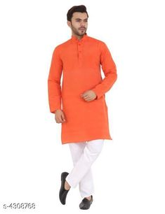 Kurtas Elite Designer Men's Kurtas Fabric: Khadi Cotton Sleeve Length: Long Sleeves Pattern: Solid Combo of: Single Sizes:  S (Bust Size: 40 in Length Size: 38 in Waist Size: 42 in)  XL (Bust Size: 46 in Length Size: 42 in Waist Size: 48 in)  L (Bust Size: 44 in Length Size: 40 in Waist Size: 44 in)  M (Bust Size: 42 in Length Size: 40 in Waist Size: 42 in)  XXL (Bust Size: 48 in Length Size: 43 in Waist Size: 50 in)  XXXL (Bust Size: 52 in Length Size: 44 in Waist Size: 54 in) Country of Origin: India Sizes Available: S, M, L, XL, XXL, XXXL, 4XL   Catalog Rating: ★3.8 (513)  Catalog Name: Elite Designer Men'S Kurtas CatalogID_617815 C66-SC1200 Code: 803-4308768-507