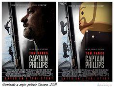 Captain Phillips-Peliculas nominadas al Oscar 2014 by LEGO