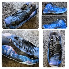 aeb85d0a929 Missed out on Galaxy  Foamposite  Galaxy No problem. Got the new tape-