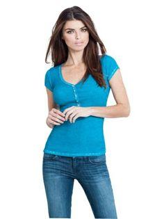 Guess sophia tshirt blue