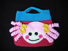 Πλεκτη Τσαντα Lalaloopsy (μερος 2ο) / Crochet Lalaloopsy Bag Tutorial (part 2) - YouTube