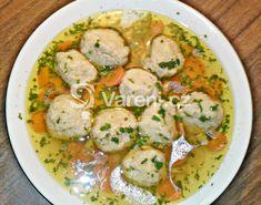 Jde o starý tradiční recept židovské kuchyně na velmi chutné macesové knedlíčky, které se dávají například do zlaté slepičí polévky. Maces je nekvašený židovský chléb, který si Židé pekli při exodu z Egypta. Jewish Recipes, Okra, Thai Red Curry, Potato Salad, Potatoes, Meat, Ethnic Recipes, Food, Gumbo