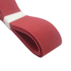 25mm red elastic
