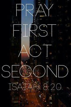 Isaias 8:20