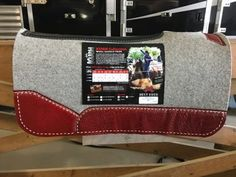 This custom western saddle pad comes with Red Croc – Beige Buck Stitch! FREE Shipping!