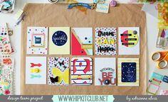 Enjoying Every Moment and a Project Life Card Tutorial *Hip Kit Club*