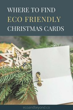 Finding eco friendly Christmas cards should be easy, right? If they're covered in glitter and other plastic decorations they can't be recycled. We did some research to find the most environmentally friendly Christmas cards around. Free Cards, Diy Cards, Send Christmas Cards, Make Your Own Card, Eco Friendly Paper, Green Christmas, Homemade Cards, Zero Waste, Place Card Holders