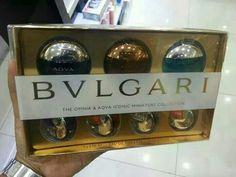 The Best Saler Bvlgari Mini Set Rm240... 100% ORIGINAL perfume..... Boleh berkongsi bersama pasangan atau teman teman tersayang anda....