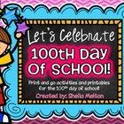 Your students have been waiting all year for the 100th day of school! Use these printables and activities to celebrate this special day with your s...
