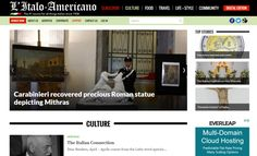 Culture   L Italo Americano   Italian American bilingual news source