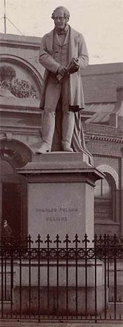Statue of Charles Pelham Villiers at Snow Hill, 1879 Wolverhampton, West Midlands, Local History, Wolves, Nostalgia, To Go, Track, England, Snow