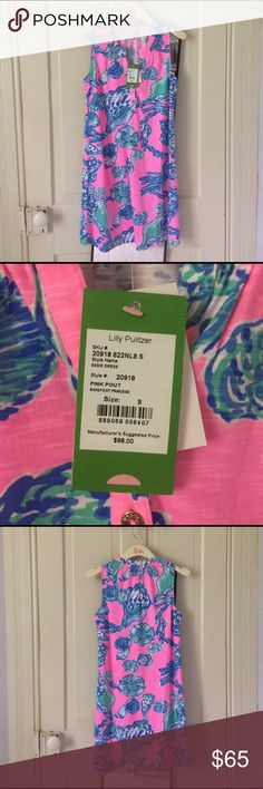 NWT Lilly Pulitzer Essie Dress in Pink Pout Love this dress! Purchased a while ago for an event that I ended up not attending. The dress is super soft and can be dressed down with sandals or up with wedges or Jacks. Message me with any questions :) Lilly Pulitzer Dresses Mini