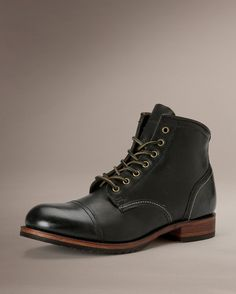 Logan Cap Toe boot - by The Frye Company - Great looking but not reviewed well; BlindBully