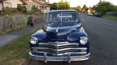 My 1949 Plymouth Special Deluxe. I'm only the 3rd owner!!