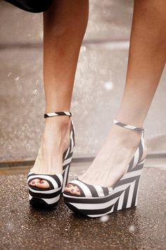 Milan Fashion Week © Coke Bartrina. Stripes in street style