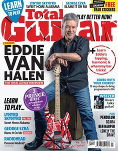 Magazine Eddie Van Halen, Lynyrd Akynyrd, Radiohead, Weezer, Pendulum, Ben  Harper, Lonely the Brave and much more. Learn to play.