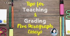 For several years now, 5th grade teacher Jenifer Bazzit has been teaching five paragraph essay structure and everything that goes with it. See her tips.