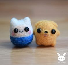Items similar to miniature felted Finn & Jake on Etsy - money - . - Items similar to miniature felted Finn & Jake on Etsy – money – - Abenteuerzeit Mit Finn Und Jake, Finn Jake, Funny Cartoon Characters, Funny Cartoons, Cartoon Cartoon, Cute Crafts, Felt Crafts, Kawaii Crafts, Diy Crafts