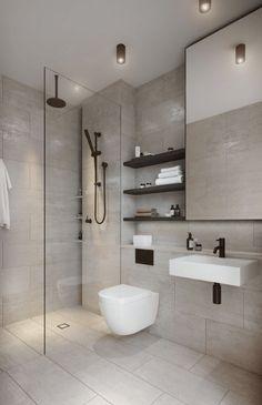 Washroom Design, Toilet Design, Bathroom Design Luxury, Bathroom Layout, Modern Bathroom Design, Bathroom Ideas, Bathroom Remodeling, Remodeling Ideas, Minimalist Small Bathrooms