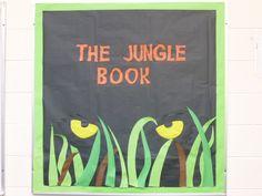 My Jungle Book bulletin board for 10th grade world literature by Martin Surridge