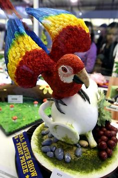 sydney royal easter show - creative sugar art