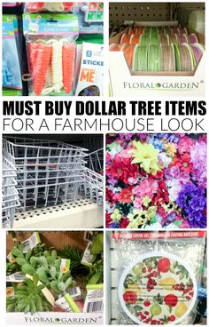 Get the Farmhouse Look with These Dollar Tree Items   Little House of Four: Get the Farmhouse Look with These Dollar Tree Items