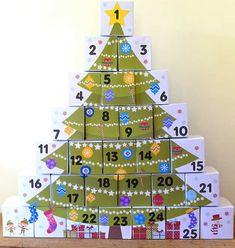 Skvelé inšpirácie na adventné kalendáre, ktoré stači naplniť sladkosťami a vaše deti z nich budú mať každý deň radosť.