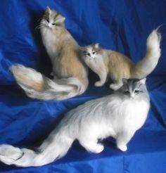 羊毛フェルト・猫  制作中|ハンドメイド、手作り、手仕事品の通販・販売・購入ならCreema。