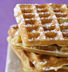 Waffles by Cyril Lignac - Ôdélices cooking recipes - Photo of the recipe: Cyril Lignac waffles - Pancakes And Waffles, Chefs, Sweet Recipes, Love Food, Sweet Tooth, Brunch, Dessert Recipes, Lunch Recipes, Food And Drink