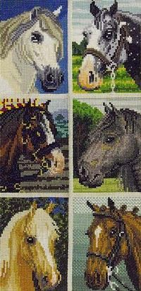 click here to view larger image of Horse Collection I (chart)