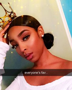 Chanelle x rosegold Makeup Goals, Beauty Makeup, Hair Makeup, Hair Beauty, Makeup Black, Curly Hair Styles, Natural Hair Styles, Hair Laid, Black Girls Hairstyles