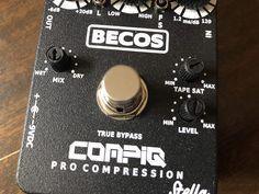 Becos CompIQ Pro Stella Compressor Review Guitar Compressor, Wet And Dry
