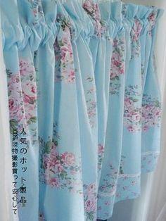 Amazon.com: Shabby and Elegant Vintage Roses Cafe Curtain/valance: Home & Kitchen