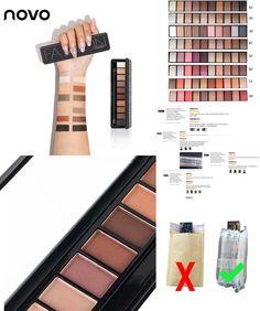 [Visit to Buy] NOVO Eye Shadow 10colors Natural Fashion Shimmer Matte Eyeshadow Palette Makeup Professional naked Make Up Nude Basic Eye Shadow #Advertisement