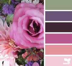 market flora color palette