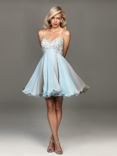 Charming Sweetheart Short Funky Chiffon Wedding Guest Dresses Online
