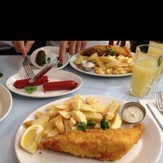Best fish in London - Poppies Spitalfields
