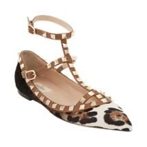 valentino rockstud cage flats + new for fall