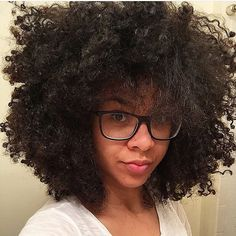 Big hair inspiration, courtesy of @frenchyfatim ... - Natural Hair ...