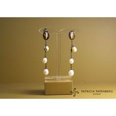 Cameo italiano - #EarringsTrilly #jewels #jewelry #orecchini trilli #gioielli http://www.patriciapapenberg.com/default/kleine-preziosen/cameo-italiano/cameoitaliano-earrings-trilly.html