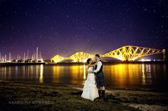 Wedding Orocco Pier South Queensferry Edinburgh Bride Groom