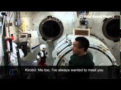 Robot Nhật lần đầu tiên nói chuyện với người trong vũ trụ