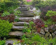 Smart Ideas for Sloped Garden Design Pictures) - Awesome Indoor & Outdoor Front Yard Landscaping Pictures, Landscaping On A Hill, Landscaping With Rocks, Outdoor Landscaping, Landscaping Ideas, Shade Landscaping, Florida Landscaping, Patio Ideas, Garden Ideas