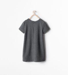ZARA - SALE - DRESS WITH CHAIN APPLIQUE