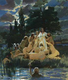 Mermaids Konstantin Makovsky