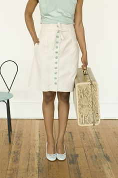 This skirt, too!  Beignet from Colette!